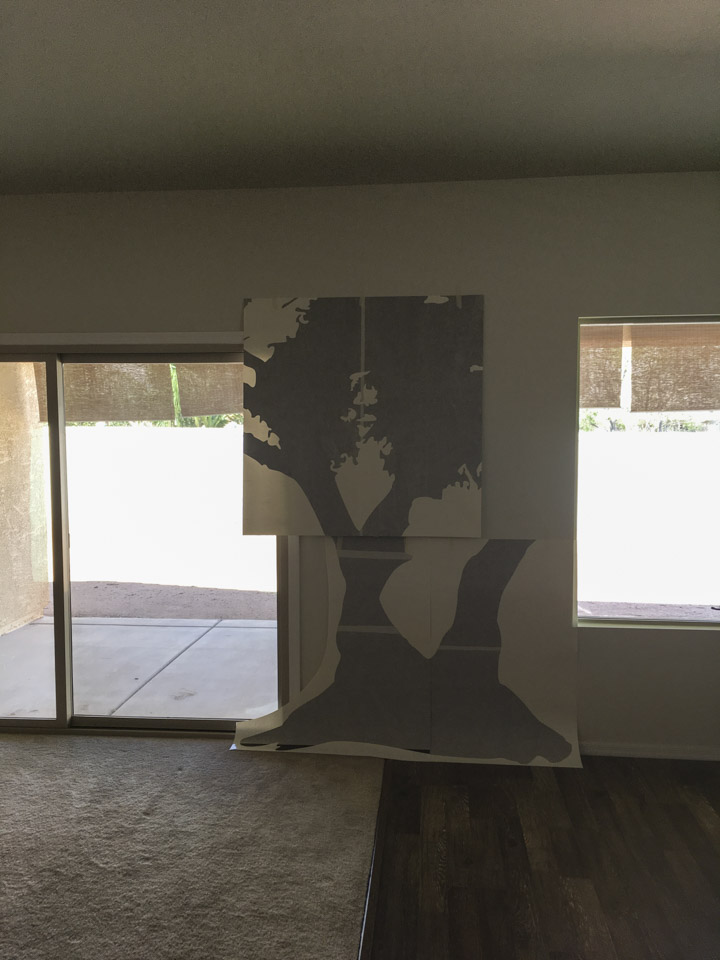 We Apply Large Wall Decals
