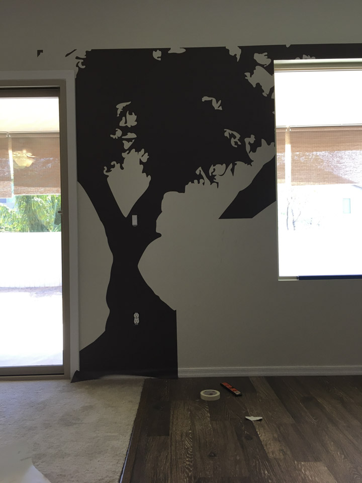 Large Decal Application